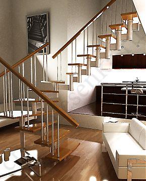 Лестницы деревянные своими руками, изготовление лестницы